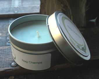 Nag Champa Soy Candle Travel Tin 6 oz