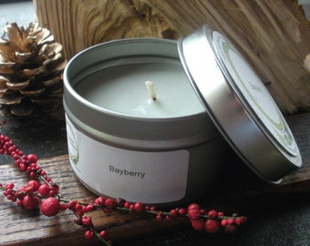 Bayberry Soy Candle, Travel Tin