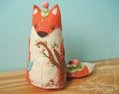 Forest Fox One of a Kind plush