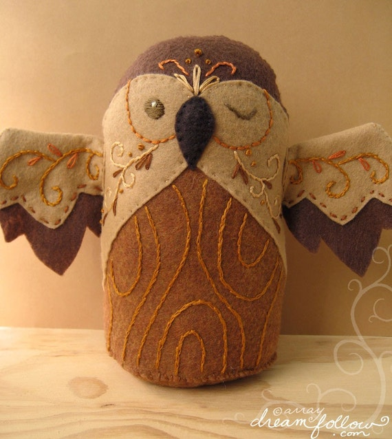 Oakley One of a Kind embroidered Owl Plush
