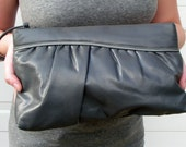The 80's Grey Wristlet Bag