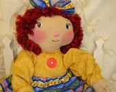 Handmade Cloth Doll. by Renata