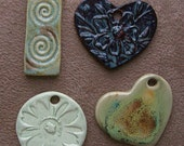 SALE -  (4) Pendants in the lot - Winter Clearance