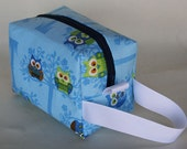 Blue Owls in Trees Piddly Bag