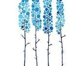 True Blue Print