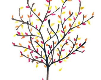 Autumn Olive Print