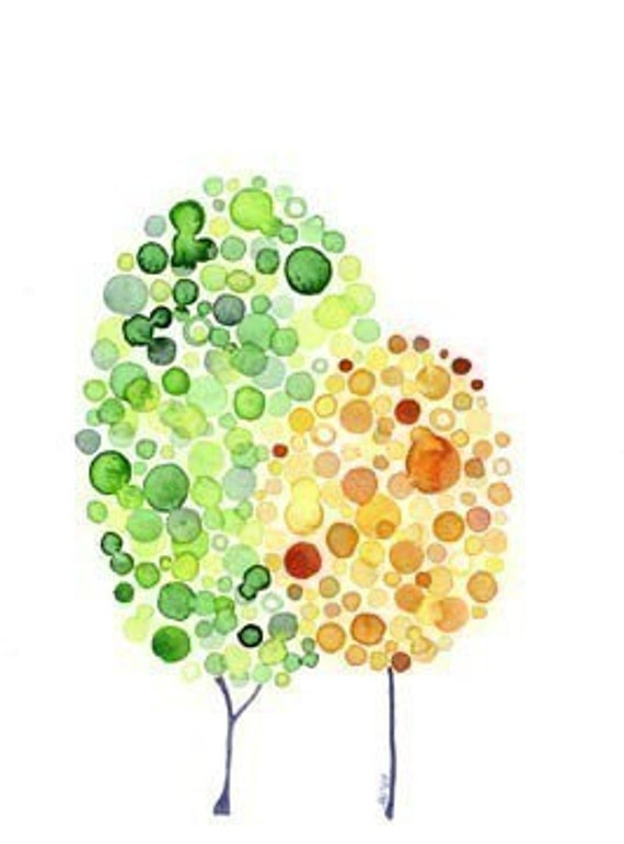 Inspirational Watercolour Tree Art Stand By Me Print