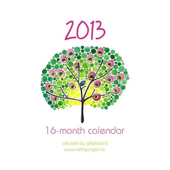 2013 16-Month Desk or Wall Calendar