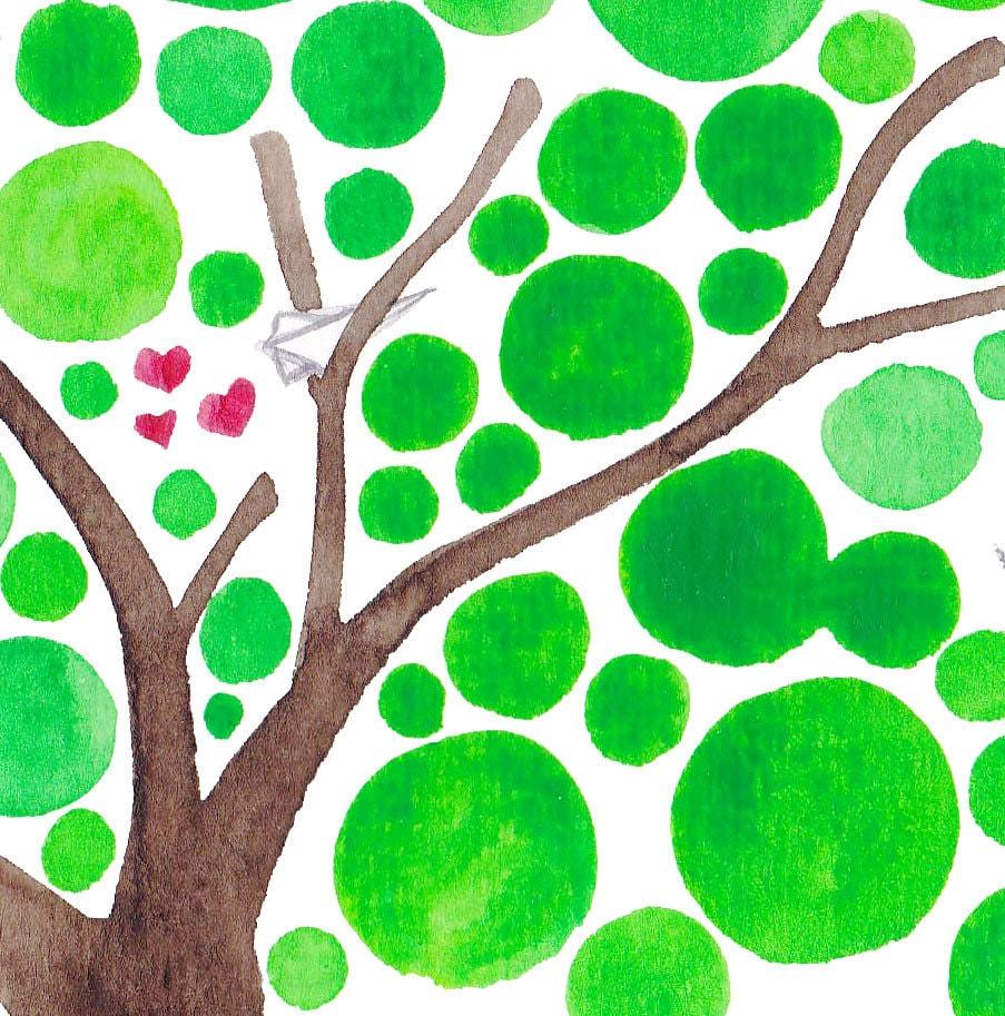 Sending My Love Watercolour Art Print Reproduction Romantic Wall Art