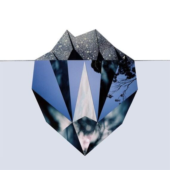 Iceberg - 8 inch print