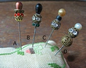 Steampunk Victorian Hat Pin A