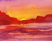 Desert Sunrise No. 1 of 9