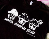 The Pirate Cupcake Unisex T Shirt