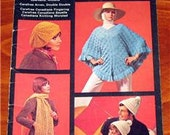 Vintage Knitting Pattern Book ACCESSORIES BY BEEHIVE 1970'S fingering Astra Sparkella