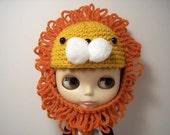 Lion Helmet for Blythe