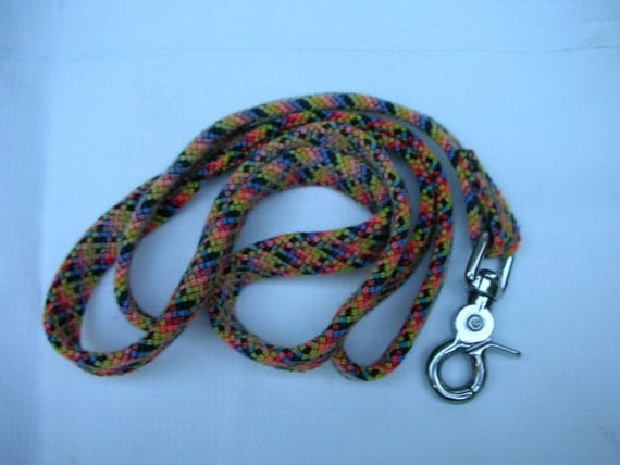 how to make a dog leash from climbing rope