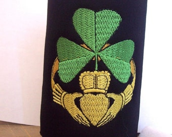 Irish Claddagh Neoprene Foam Insulated Coolers