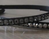swarovski crystal headband - 5mm