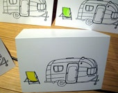 10 x Trailer inspired greetings cards