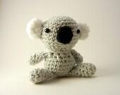 Koala Cotton Crochet Plush Toy Small