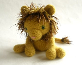 Wool Lion Plush Toy King of the Jungle