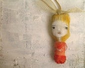 Imaginary Friend Art Doll necklace