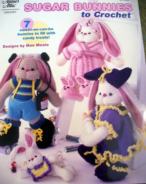 Sugar Bunnies to Crochet - Pattern Booklet