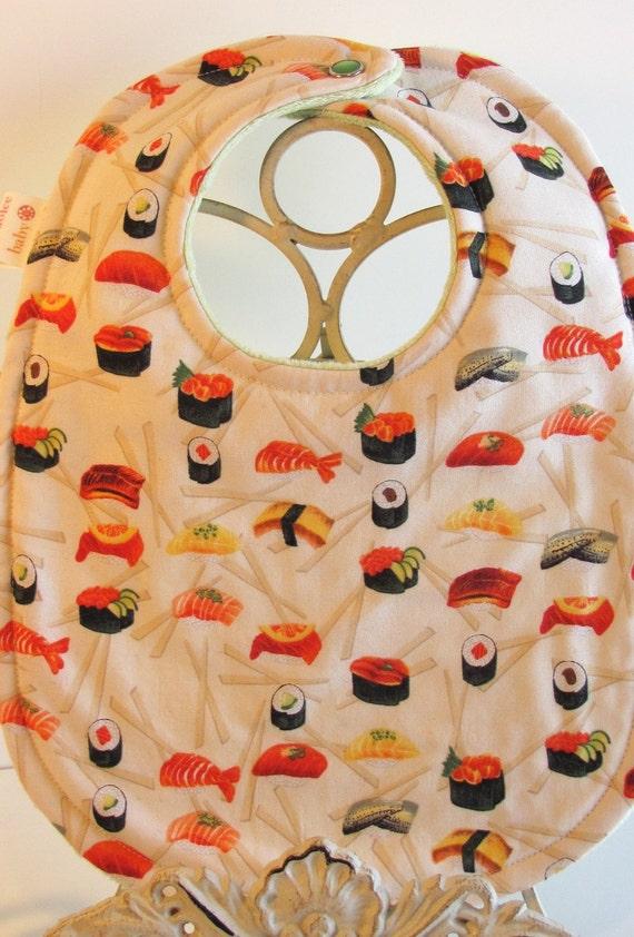 Sushi Bib- custom listing