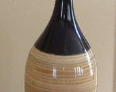 Ceramic Vase with Bamboo