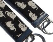 HOLIDAY SALE Elephants Key Fob