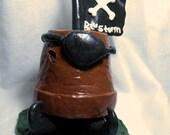 Custom order for ESGrimm- Giand pothead Garden Gnome
