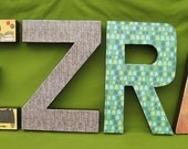Wall Art Custom Names Letters 12 inches tall