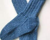 Dusty Blue Tweedy socks