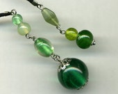 Chicago STREET TEAM SALE Beaded Bookmark - Gorgeous Greens