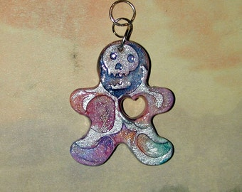 Voodoo Love Skeleton Pendant Fun and Funky