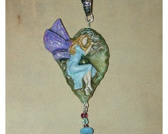 Fairy of the Forest Handmade Pendant