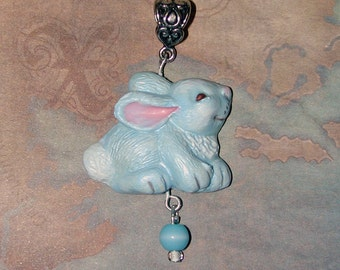 Hop into Spring with this Adorable Bunny Pendant