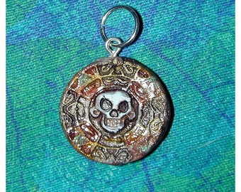 Cool Funky Pirate Coin Pendant