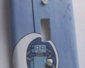 Robot Switchplate Cover