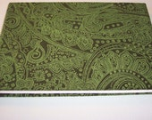 Green Paisley photo Album