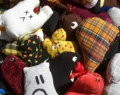 Random Scraplings - Tiny Stuffed Toys
