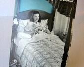 Star Bedspreads Crochet Pattern Booklet - Vintage