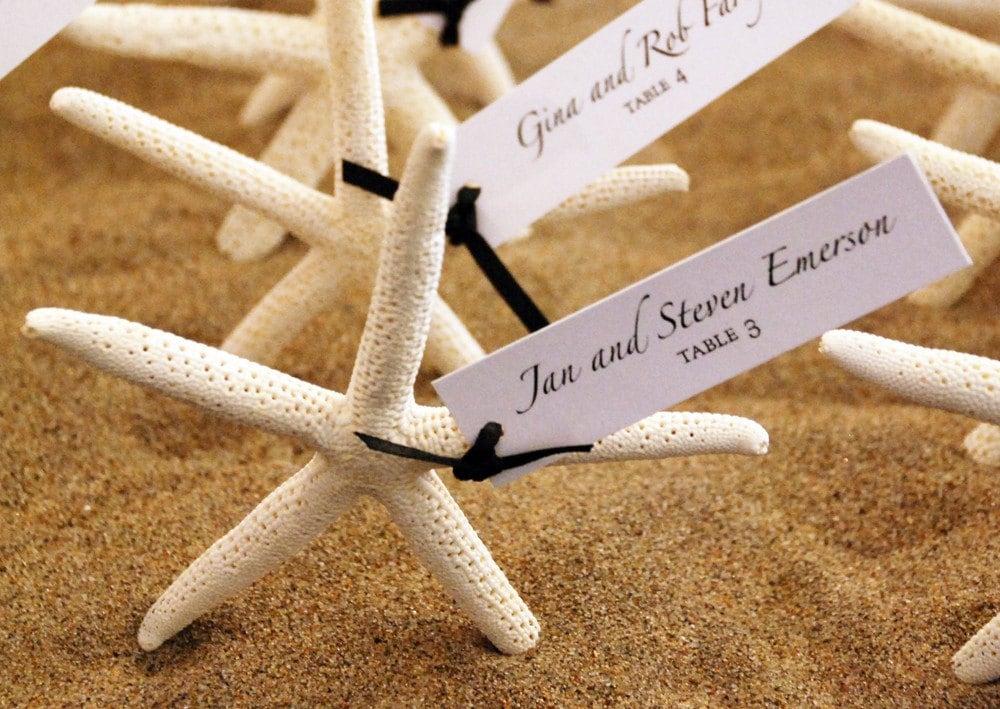 Starfish Escort Cards Or Wedding Favors