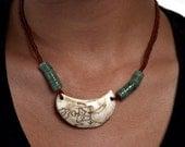 Bone & Jade Necklace