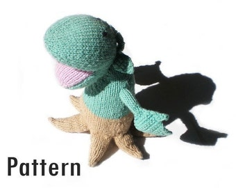 PDF Pattern - Hannibal the Man-Eating Plant - Knitting and Crochet