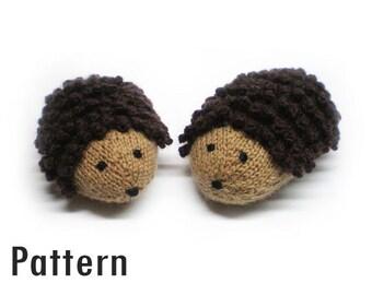 PDF Pattern - Trevor the Hedgehog - Knitting and Crochet