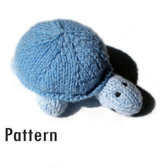 Items similar to PDF Pattern - Sven the Turtle - Knitting and Crochet on Etsy