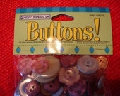 Daisy Kingdom 300 Buttons New in Package