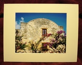 Alamo Matted 8x10 Fine Art Photograph