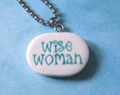Wise Woman Pendant Necklace